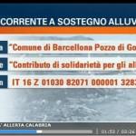 tg5 raccolta fondi Sicilia Barcellona Pozzo di Gotto