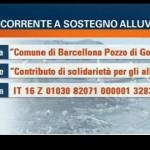 tg5 raccolta fondi Barcellona Pozzo di Gotto