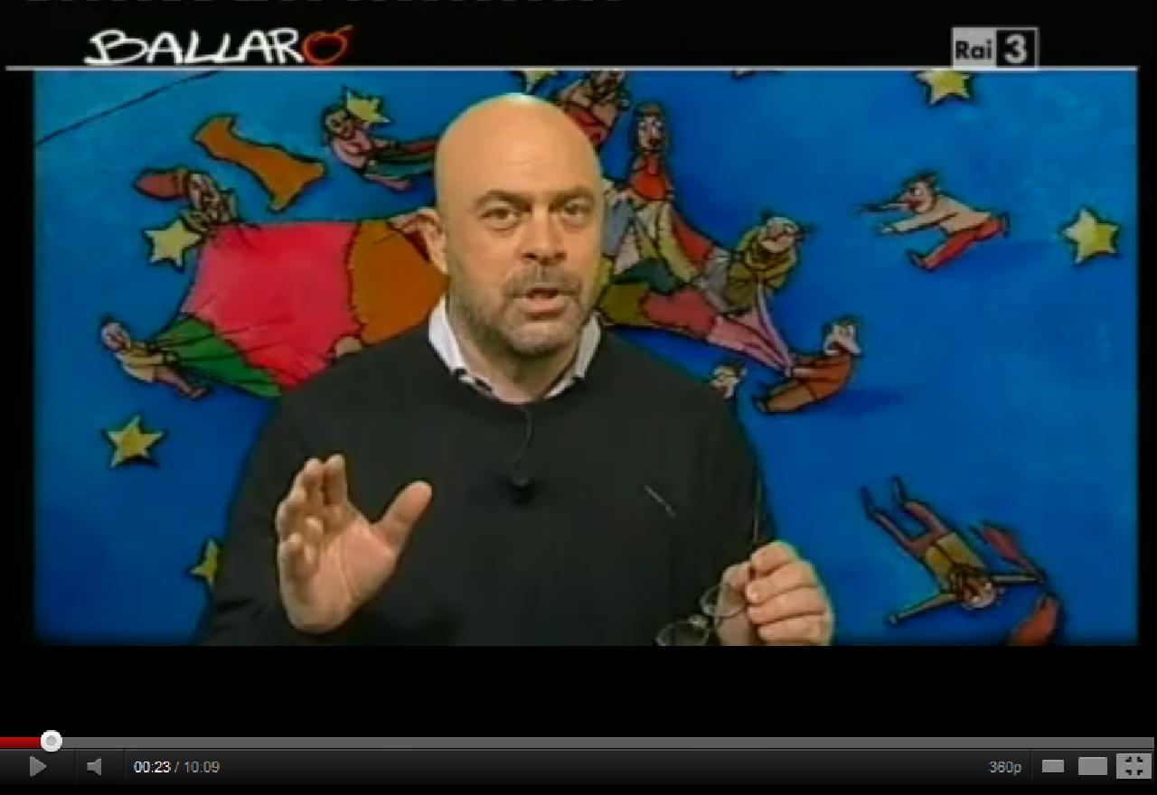 Maurizio Crozza Ballarò 10 gennaio 2012