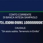 raccolta fondi corriere della sera / TG La 7 terremotati Emilia Romagna