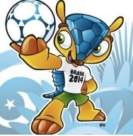 Mascotte mondiali 2014, World Champ 2014 mascot armadillo