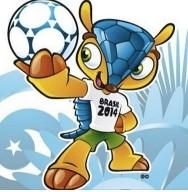 Mascotte mondiali 2014, World Champ 2014 mascot armadillo