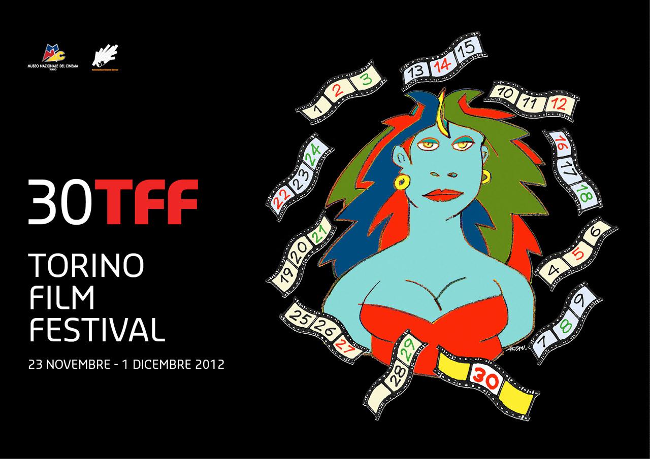 dépliant torino film festival 2012