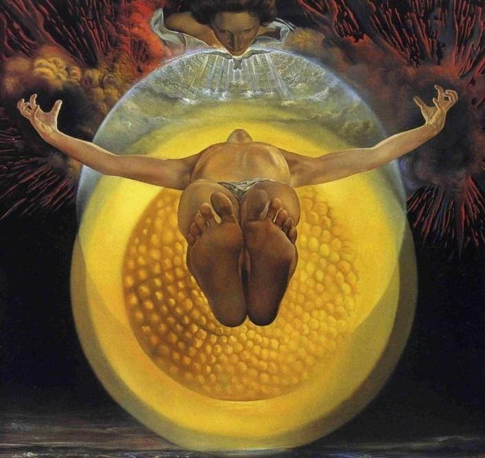 Salvador Dalí, La Ascensión de Cristo