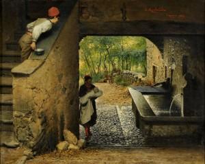 Luigi Monteverde Il neonato (1882)