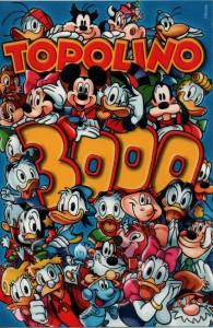 copertina del numero 3000 di Topolino, in edicola del 22 maggio