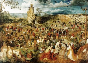 Pieter Bruegel, Salita al calvario