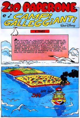 Zio Paperone e i campi galleggianti