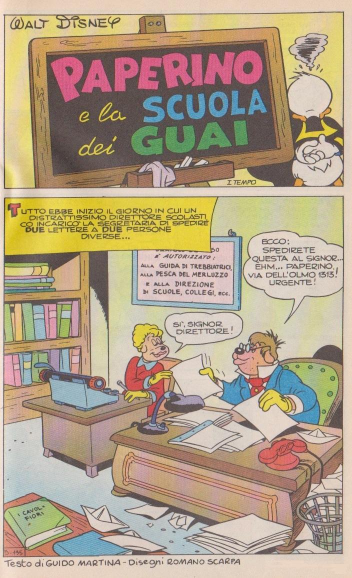 Paperino e la scuola dei guai 1