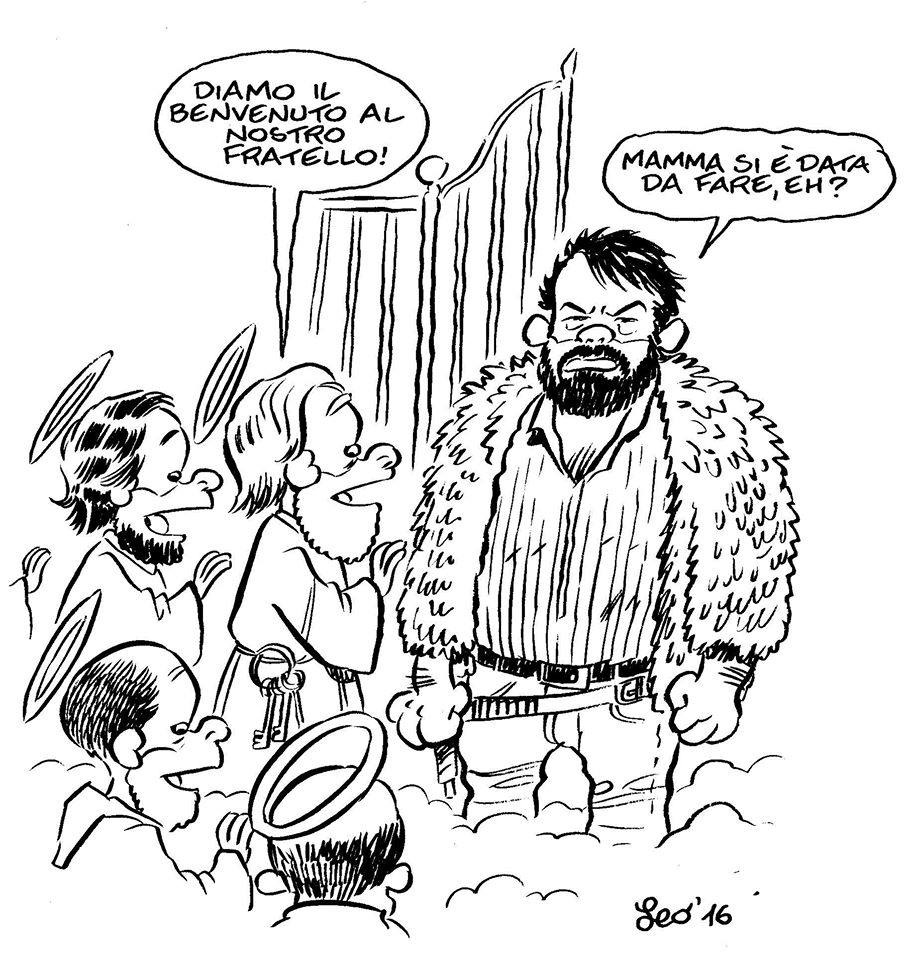 Bud Spencer secondo Leo Ortolani