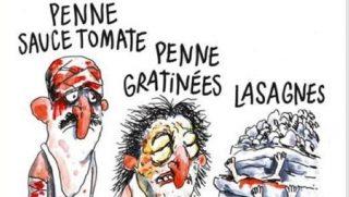 Charlie Hebdo on Italian earthquake