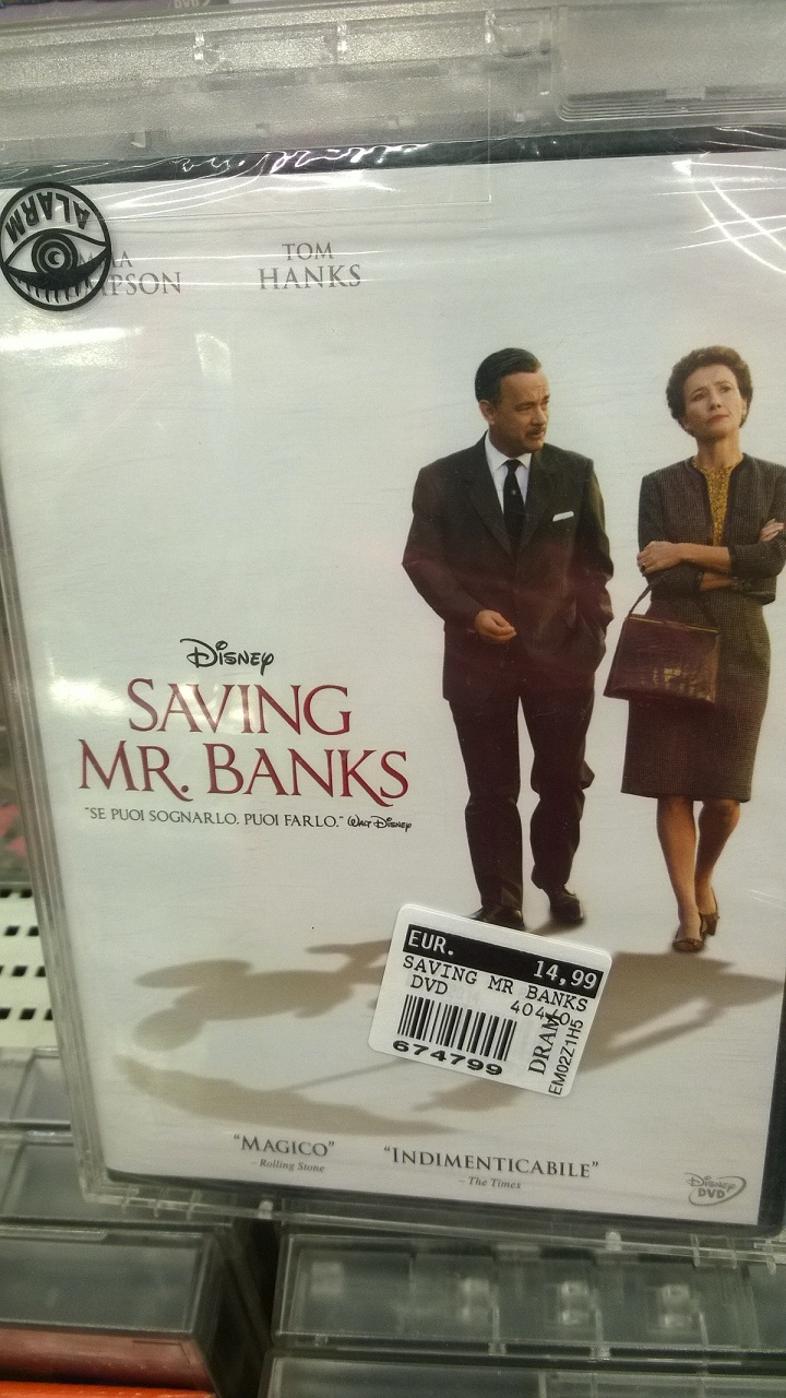 Saving Mr. Banks, the film.