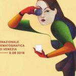 il manifesto della-mostra del-cinema di-venezia 2018 di lorenzo mattotti ispirata a Sasha Grey