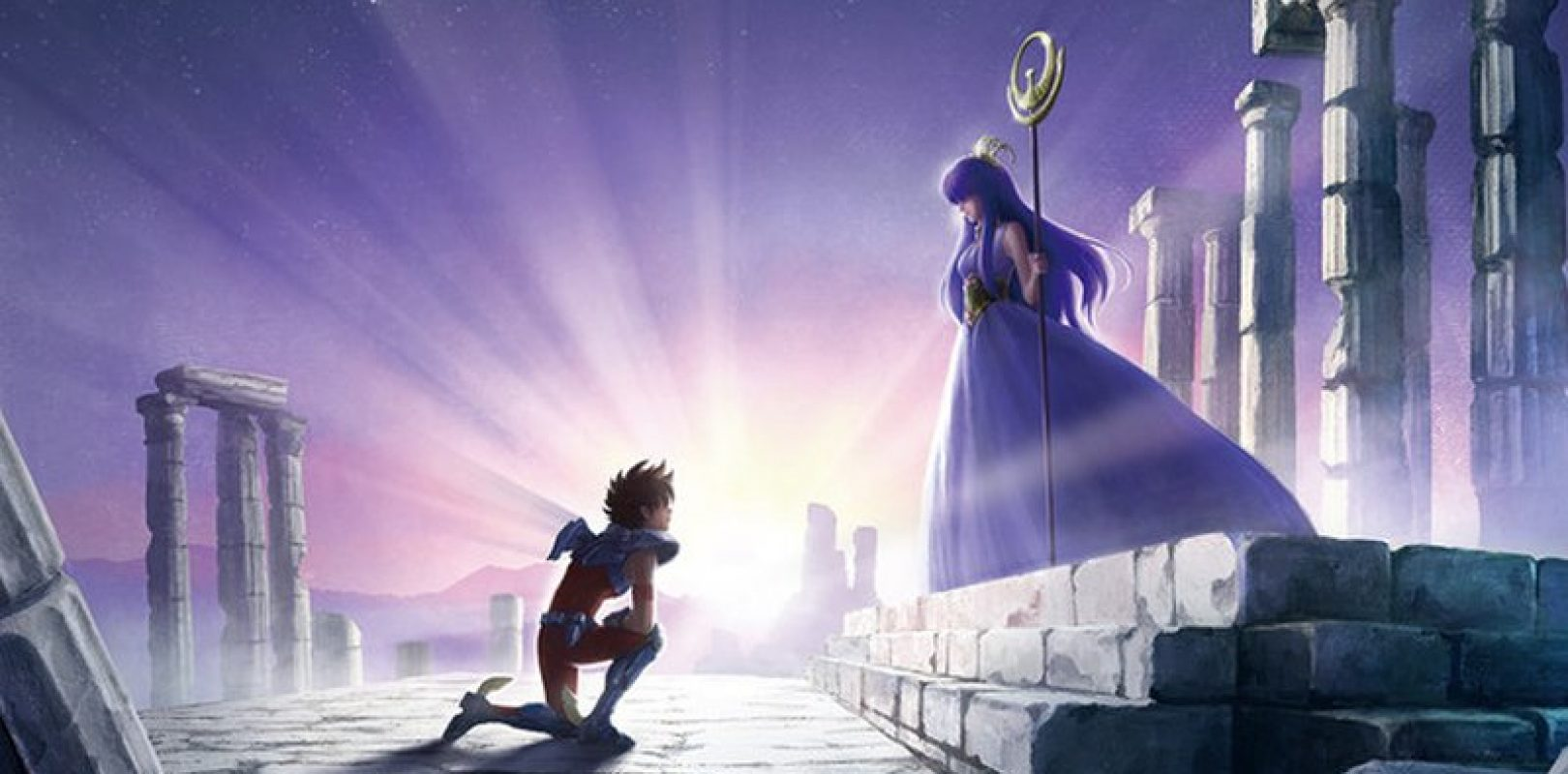 Saint Seiya netflix - Athena and Seya
