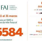 FAI - Fondo Ambiente Italia, sms solidale