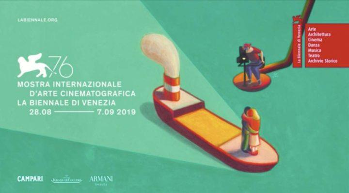 manifesto settantaseiesima Mostra cinematografica di Venezia