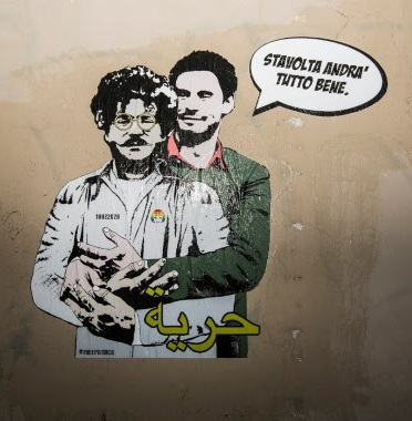 laika's street art on Zaki and Regeni 1